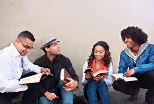 Bible Study Group Church Stock Photos